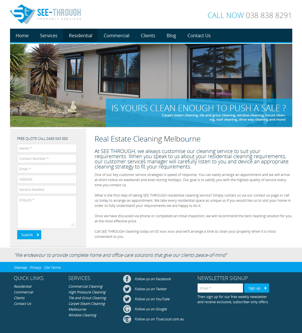 See Through Property Services